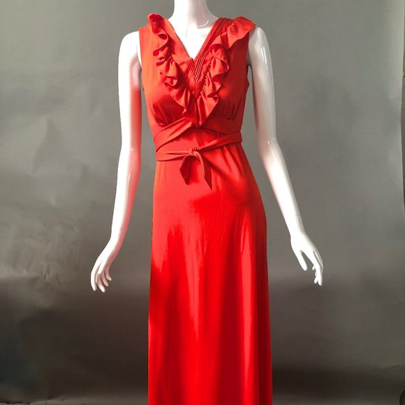 Jerrell of Texas Dresses & Skirts - Red Vintage Maxi Dress by Jerrell of Texas